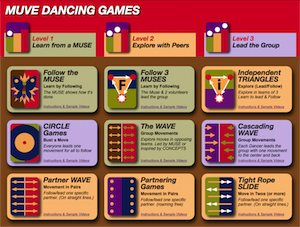 MUVE Dancing Games